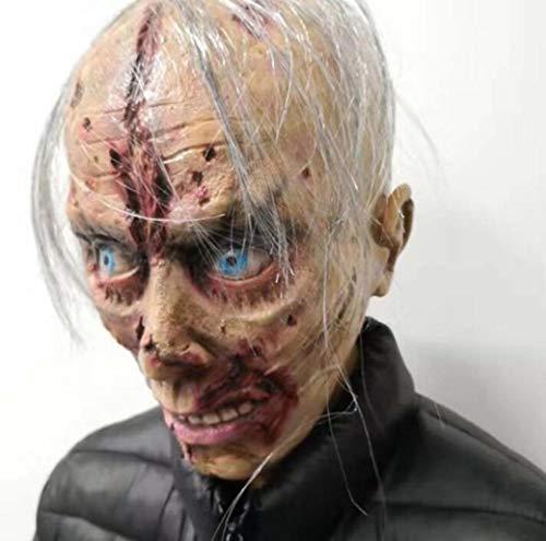 Zombie Ghost Face Kostüm - Halloween Ghost Face Zombie Maske