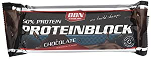 Best Body Nutrition Barre Nutritive Hardcore Protéine Block 15x90g barre Chocolat