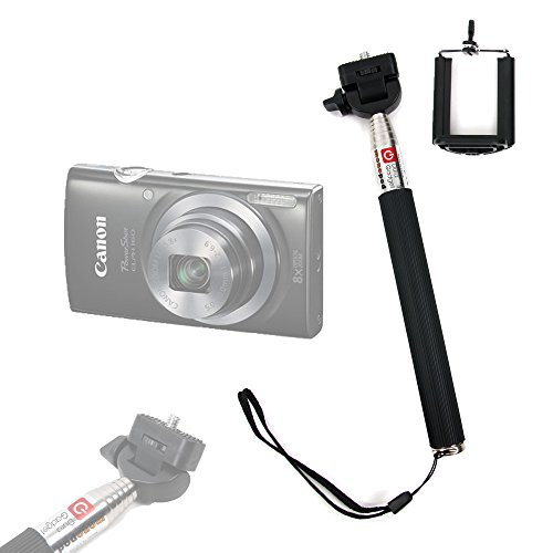 perche-selfie-stick-telescopique-duragadget-avec-support-ajustable-pour-appareil-photo-canon-powersh