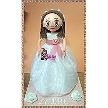 8516fea231d Fofucha Mi primera Comunión niña muñeca artesanal 35 cms