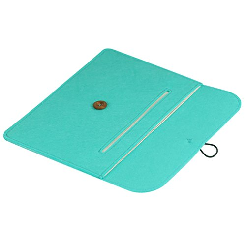 YiJee Custodia Protettiva Borsa Sleeve Laptop con Tasche per Macbook Air/Pro 13.3 Pollice Verde