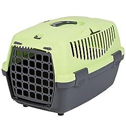 Trixie Capri I Hard Shell Pet Carrier in Dark Green/pastel Green
