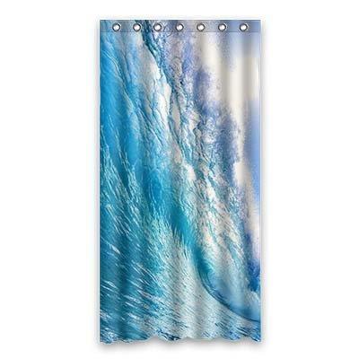 dalliy Ocean Wave Kostüm der Duschvorhang Shower Curtain 90cm x 183cm 36