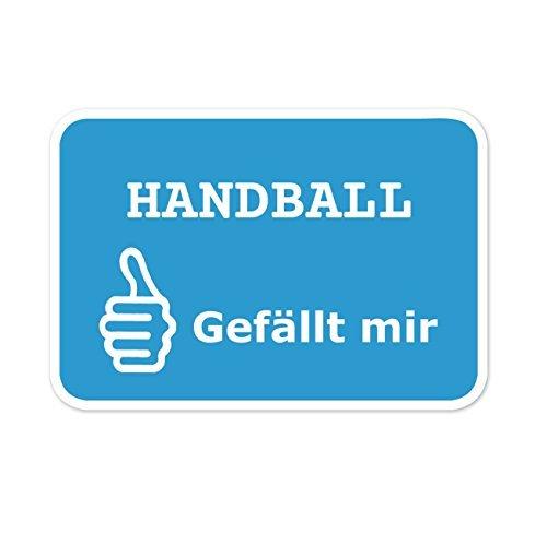 JOllify Aufkleber - Handball – Farbe: Design: Gefällt Mir