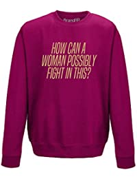 Brand88 - How Can I Fight in This?, Adults Sweatshirt