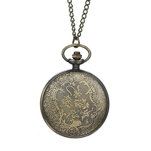 ge Chain Retro Die größte Pocket Watch Halskette für Opa Dad Gifts ()