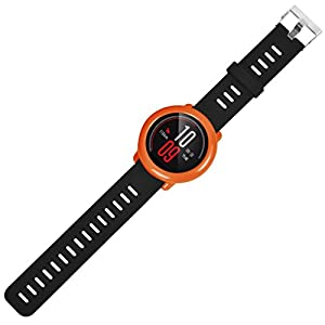 Watch Band Strap with Frame Case Cover for Huami Replacement Amazfit Vneirw Silicon Watch Band Strap Amazfit Replacement Watch Band Bracelet