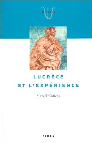 Lucrèce et l'Expérience