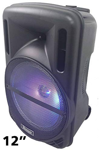 Altavoz portatil trolley karaoke bluetooth radio usb tarjeta 80W