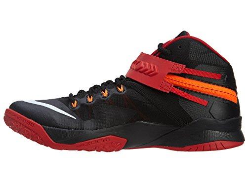 Nike Nike Zoom Soldier Viii Lebron James Basketballschuhe - Scarpa, , taglia Black/Red/White
