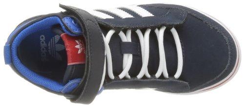 adidas Originals Top Court 2 K, Baskets mode garçon Bleu (Enccla/Blanc/Rougco)