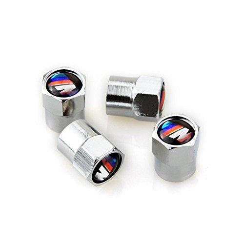 4/40 unidades universal Rueda neumático válvula de manillar Air radabdeckung Cobre Revestimiento de cromo Válvula de Neumáticos Fit para F30 F20 F10 F15 F13 M3 M5 M6 X1 X3 X5 X6