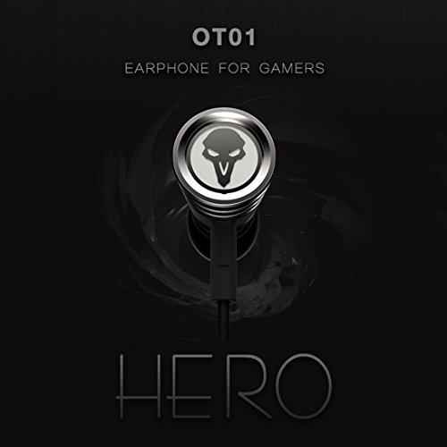 Rmplayer OT01 HiFi-Kopfhörer In-Ear für Spiel - Metallic Black - Bild 5