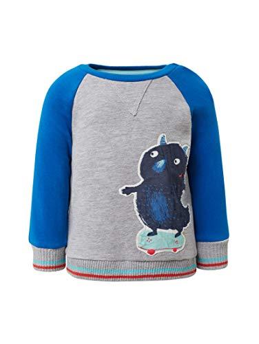 en Strick & Sweatshirts Sweatshirt mit Print Nautical Blue|Blue, 86 ()