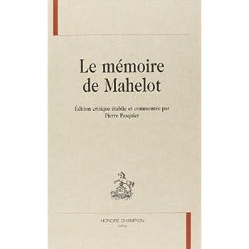 La mémoire de Mahelot
