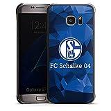 DeinDesign Hülle kompatibel mit Samsung Galaxy S7 Edge Handyhülle Case FC Schalke 04 Camouflage S04