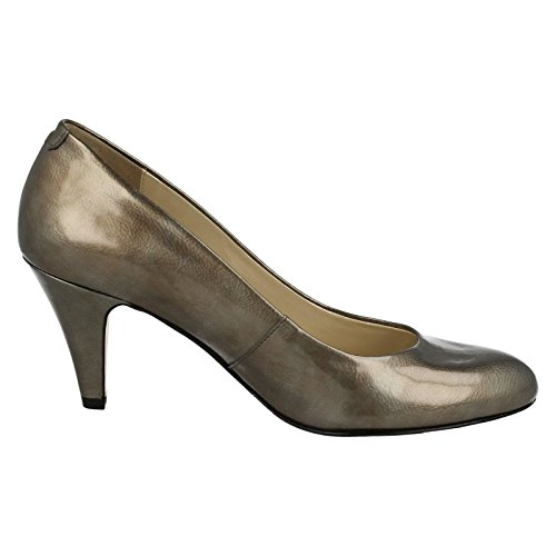 Van Dal  Holt,  Damen Pumps Pewter Feature Patent