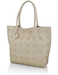Butterflies Women's Handbag (Cream) (BNS 0603CRM)