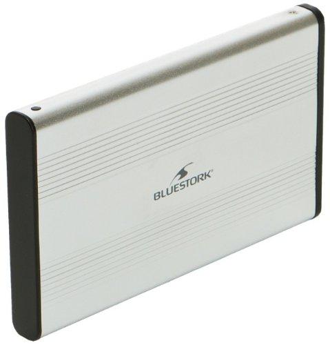 Boitier HDD externe 2.5', Bluestork, SATA - USB2.0 - Argent