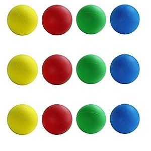 First-Play - Pelotas de Espuma estándar, Color Amarillo, 8 cm