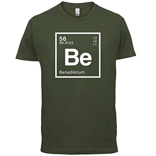 Benedikt Periodensystem - Herren T-Shirt - 13 Farben Olivgrün