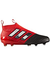sports shoes 2010b 60700 adidas ACE 17+ Purecontrol Red Limit FG Fußballschuh Herren