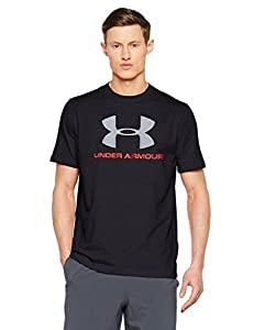 Under Armour Cc Sportstyle Logo Herren Fitness T-Shirts & Tanks, Dark Grey, XS
