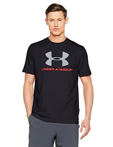 2015 Under Herren Armour Schuhe (Under Armour Herren Cc SPortstyle Logo Fitness T-Shirt, Dark Grey, M)