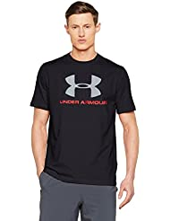 Under Armour Men's Charged Logo Shortsleeve T-Shirt