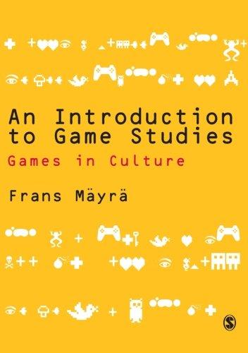 Preisvergleich Produktbild An Introduction to Game Studies: Games in Culture