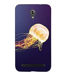 PrintVisa Ballon Fire 3D Hard Polycarbonate Designer Back Case Cover for Asus Zenfone Go ZC500TG