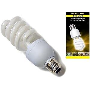 nature-glow 13W 26W Compact Lampe 2.05.010.0UV-Leuchtmittel Vivarium Reptile Terrarium