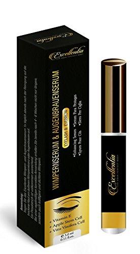Premium Wimpernserum - für ein starkes und schnelles Wimpernwachstum | Augenbrauenwachstum | mehr...