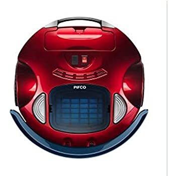 Pifco P28027 Self Docking Robot Vacuum Cleaner Red