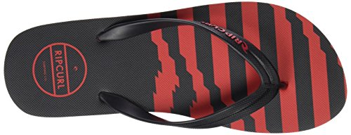 Rip Curl Tctd93, Tongs homme Rouge