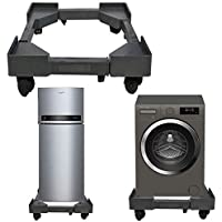 Amarks Fiber Heavy Duty Adjustable Fully Top Loading Washing Machine Trolley Best Suitable for Fully Automatic Lloyd 7.5 kg Washing Machine