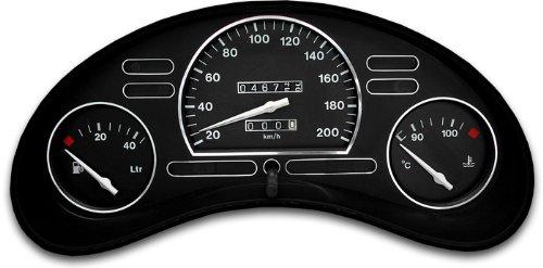 Drive Zero #tr_opel-109 Tachodekorset Chrom