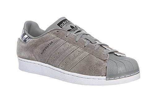 adidas Unisex-Erwachsene Superstar J Fitnessschuhe, Grau (Gris 000), 38 2/3 EU