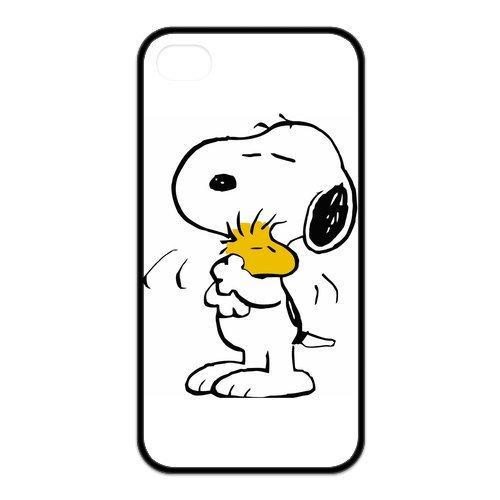 Coque de protection en caoutchouc silicone durable Motif Snoopy Ghouls Pour téléphone portable iPhone 4/4S