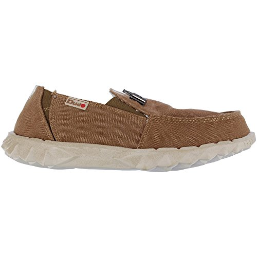 Dude Shoes Mens Fur Lined Farty Chalet Coffee brown