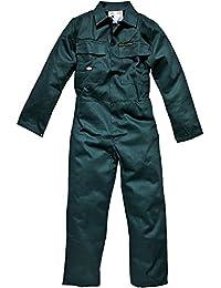 Dickies Mens Workwear Proban Coverall VAT B Green FR4869V
