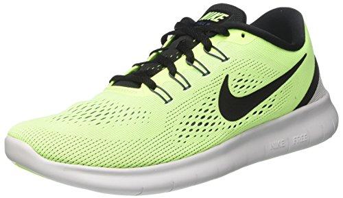 Nike Herren Free RN Laufschuhe, Grün (Ghost Green/Black/Blue Moon/Pure Platinum), 44 EU