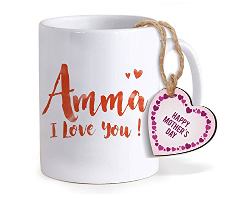 TiedRibbons mothers day special gifts for mother Printed Coffee Mug(320ml) With Mothers Day Special Wooden Tag