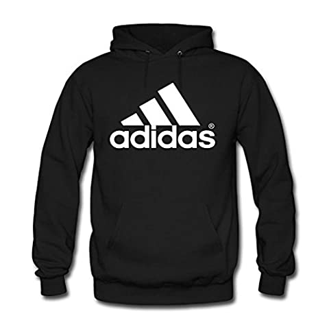 Adidas Sport Performance Logo Women's Hoodie - Black -