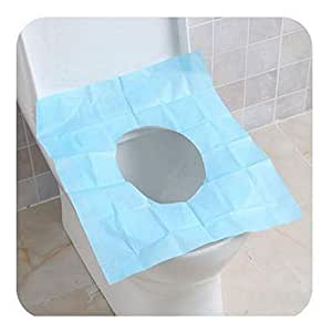 Disposable Waterproof Paper Toilet Seat Covers For Camping