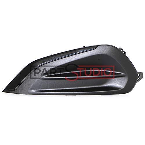 PIECES AUTO SERVICES Grille Pare Chocs Avant Gauche Peugeot 208 06/14 => (sans antib)= 9810533680