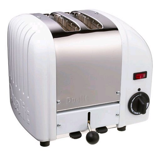 -[ Dualit Classic 2-Slot Toaster - Stainless Steel  ]-
