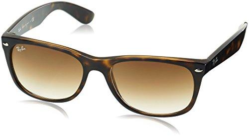 Ray Ban Herren Sonnenbrille New Wayfarer, Tortoise, Large (Herstellergröße: 58)