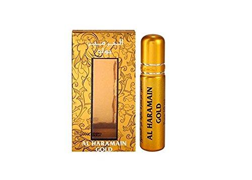 Gold 10ml Al Haramain Parfümöl hochwertig arabisch orient oud misk musk
