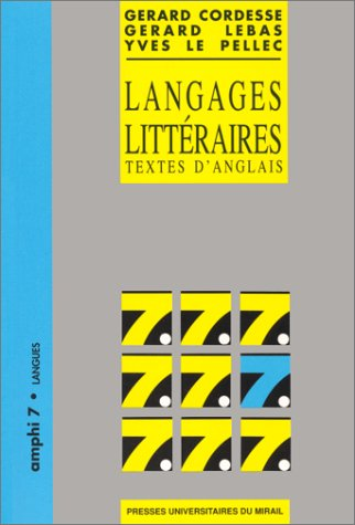Langages littéraires : Textes d'anglais